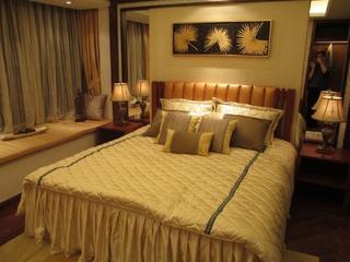 110平新中式风格住宅欣赏卧室陈设