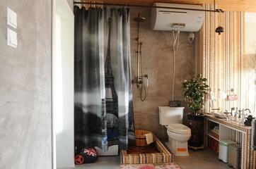 简洁一居室小豪宅欣赏卫生间摆件