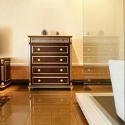 欧式风住宅设计卧室收纳柜