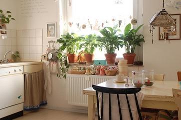 白色混搭雅居别墅欣赏厨房