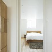 112平日式风格住宅欣赏卧室陈设