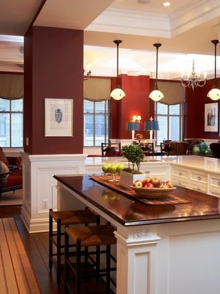 色彩明亮北欧三居欣赏厨房