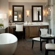 新古典装饰套图欣赏卫生间