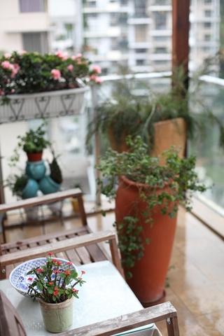 东南亚风格三居室欣赏阳台陈设