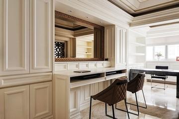 140平欧式大宅欣赏卧室梳妆台