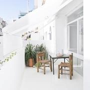 36平极简主义设计欣赏阳台
