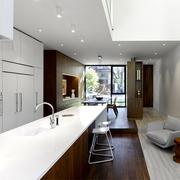 别墅现代厨房