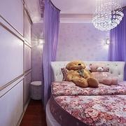 卧室灯饰装修效果图 温馨公主房
