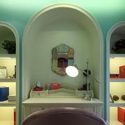 地中海风格设计嵌入式壁柜
