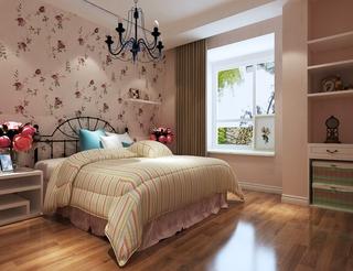 小户型的春天设计欣赏卧室效果