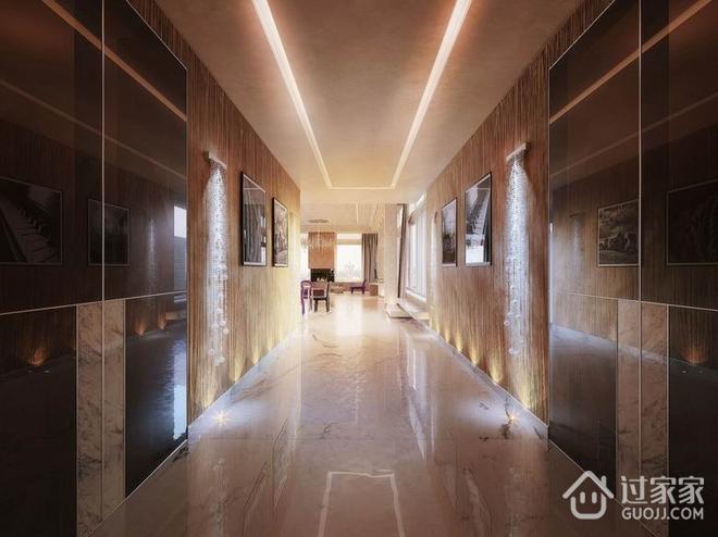 豪华现代梦幻住宅欣赏过道设计