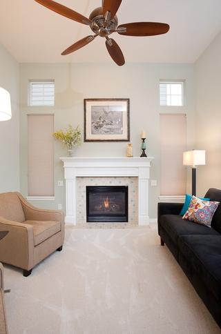 宜家别墅装饰设计欣赏客厅全景