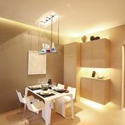67平现代风格一居室欣赏餐厅