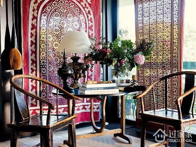 神奇色彩混搭两居室欣赏