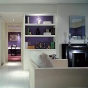 现代风十足 客厅书架装饰效果图