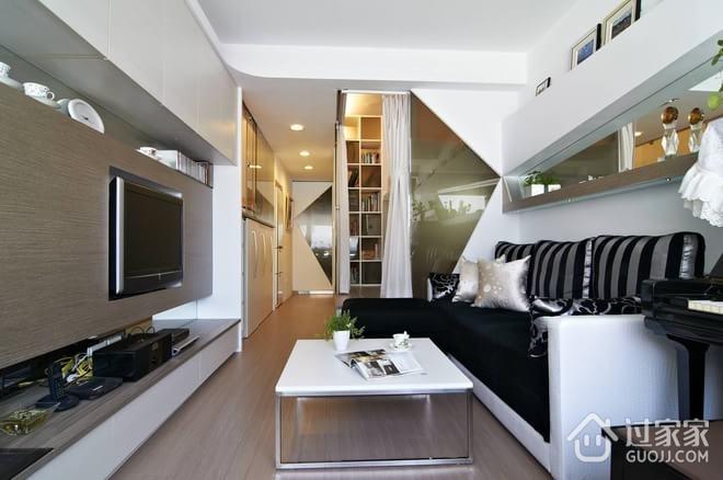 49平现代一居室欣赏