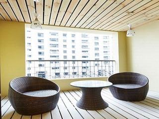 78平简约风格住宅欣赏阳台
