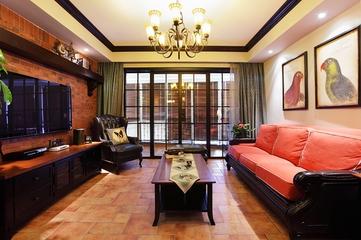 复古混搭公寓欣赏客厅