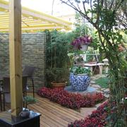 花园休闲区