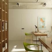仓库改造的私人公寓欣赏书房陈设