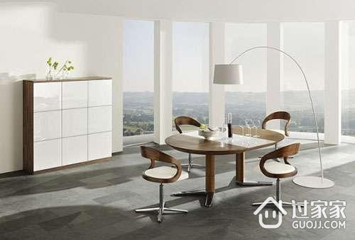 现代餐桌的材质 现代餐桌的形状