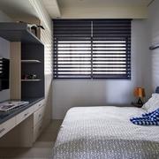 日式禅风三居室欣赏卧室局部