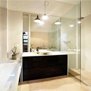 旧仓库改造的豪宅欣赏洗手间