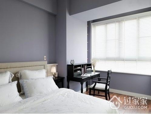 107平美式三居室欣赏卧室效果