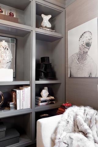 欧式装饰效果图赏析储物柜设计