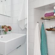 36平白色宜家住宅欣赏洗手间