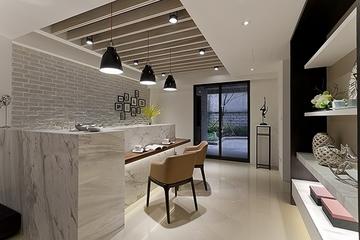现代奢华舒适公馆欣赏厨房