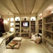 地中海风家居设计卧室读书区