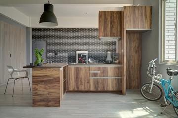 102平现代舒适住宅欣赏厨房