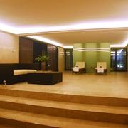 新中式风格会客厅陈设