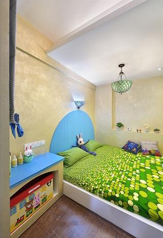185平地中海温馨别墅欣赏儿童房