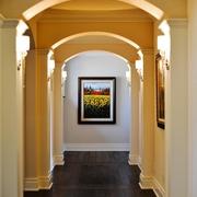 现代住宅效果套图圆拱形门