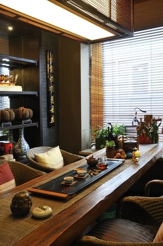 现代别墅设计套图茶室