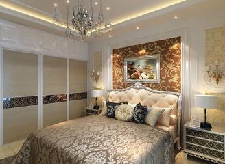 118平欧式住宅欣赏卧室衣柜设计
