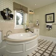 美式田园别墅浴缸