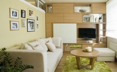 37平温馨单身公寓欣赏