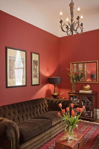现代风复式住宅欣赏客厅灯具