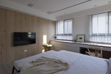 奢华新中式卧室电视背景墙设计