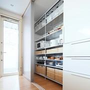 67平日式风格别墅欣赏厨房设计