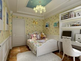 122平美式温馨住宅欣赏儿童房