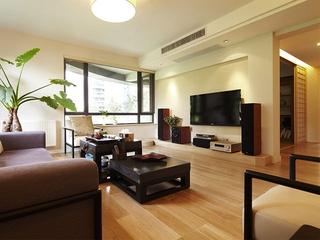 华丽日式112平三居室欣赏