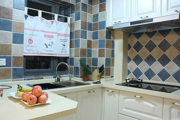 地中海小资户型住宅欣赏厨房橱柜