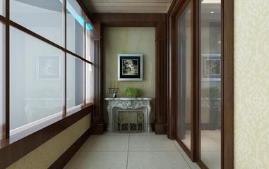 美式风格装修效果图欣赏阳台