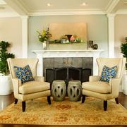 135平美式实用装修欣赏客厅设计