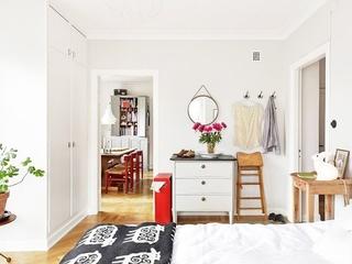 64平宜家风格效果图欣赏卧室效果