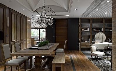 现代奢华别墅套图欣赏餐厅设计